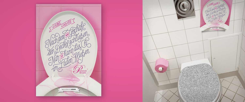 Sag es schoener Custom Lettering für Princess Dreams
