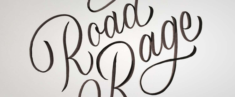 minkadu Handlettering Schriftprobe, roundhand