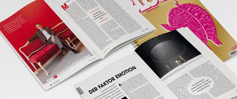 minkadu Beispiel Berlin Block Magazin, wir bieten Editorial Design, Typografie, Satz und Layout